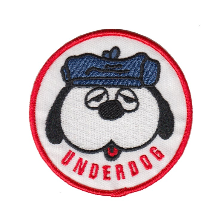 UNDERDOG New Embroidered Iron On Patch 3/""