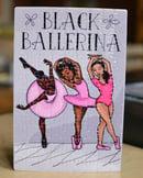 Image 2 of Black Ballerina Puzzles