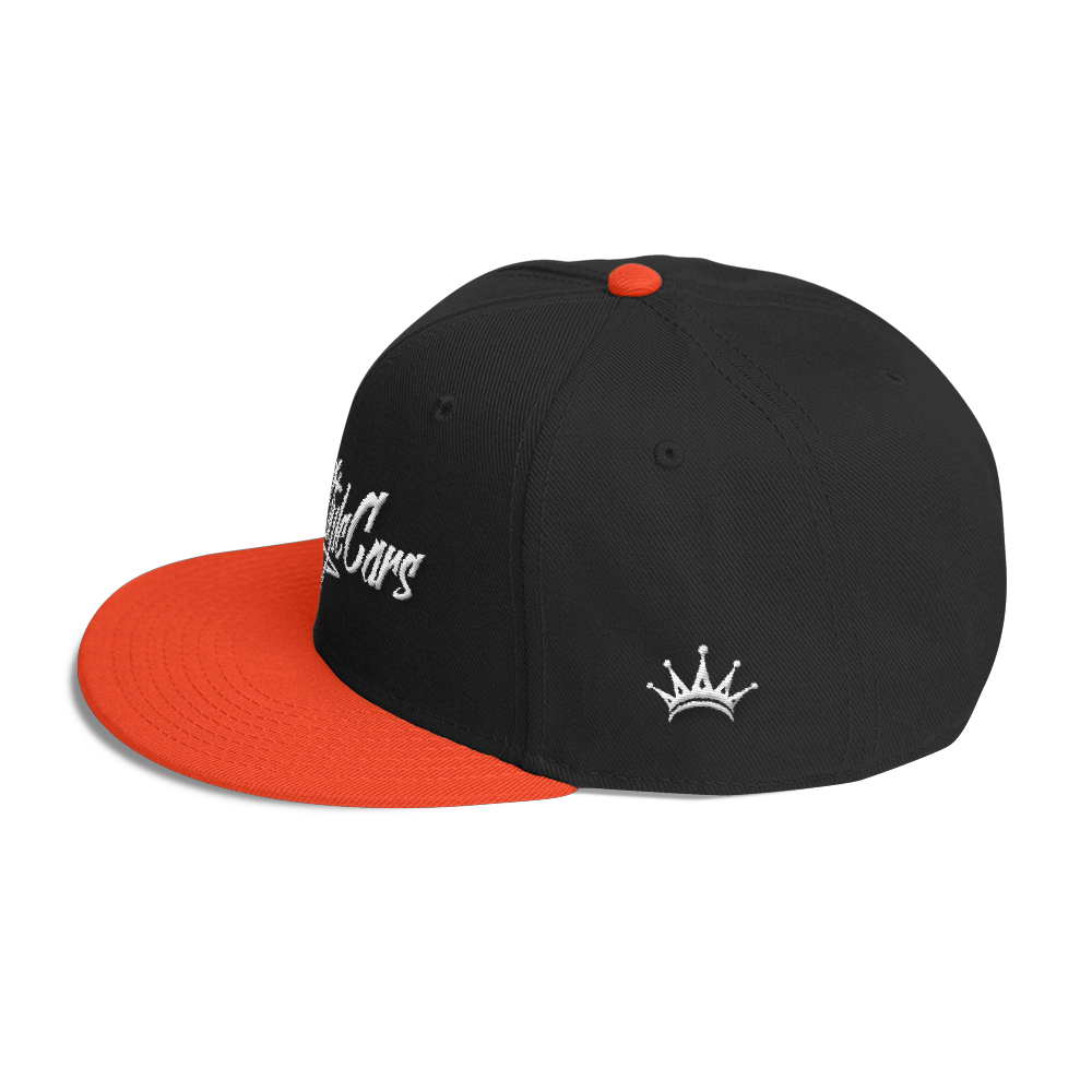 Image of VSC Snapback Hat - Black / Orange