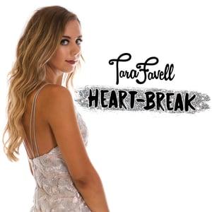 Image of Tara Favell - Heart-Break CD + Includes Bonus Tracks (SIGNED)