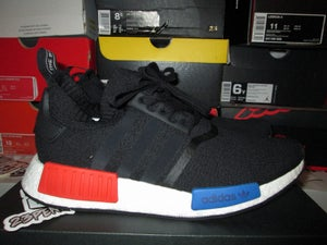 "Image of adidas NMD Runner PK ""Core Blk/Lush Red"""