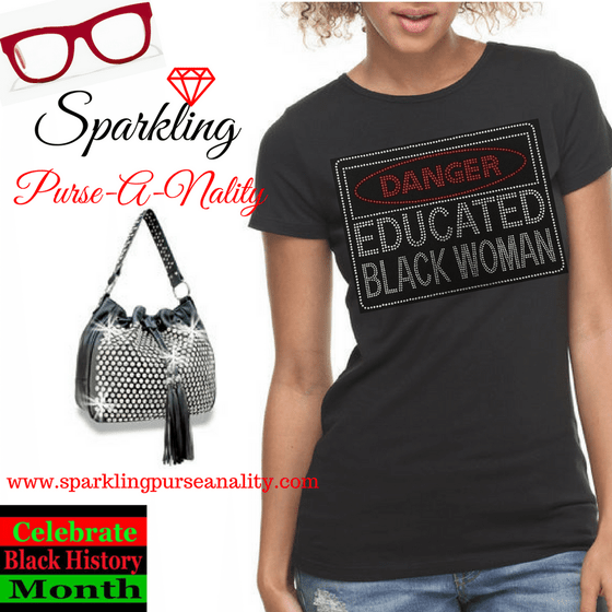 "Image of ""Sparkling"" Danger Educated Woman Shirt"
