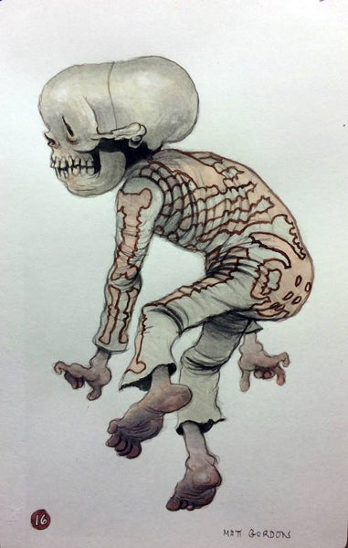 Image of Dancing Skull by Matt Gordon