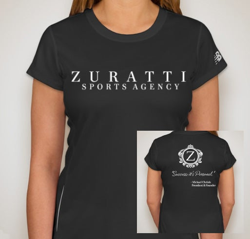 Image of Zuratti Ladies Tempo Performance Shirt (Black)