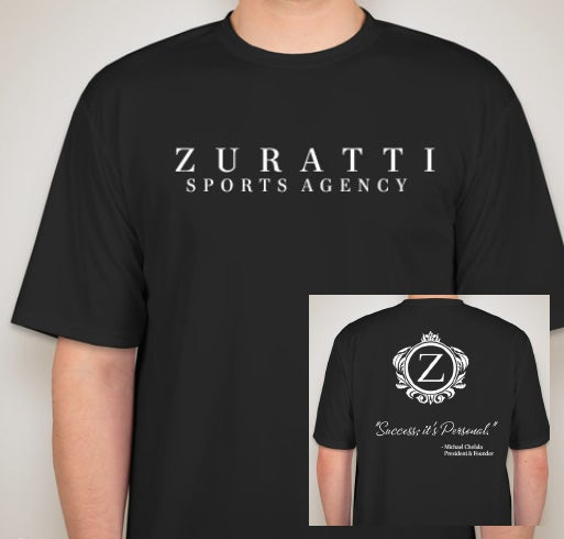 Image of Zuratti's Performance Shirt (Black)