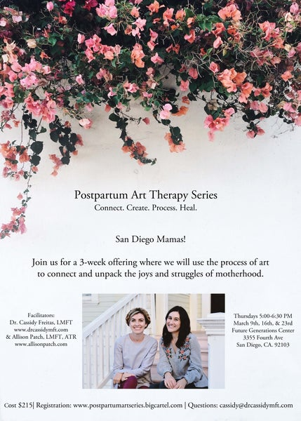 Image of Postpartum Art Therapy Series