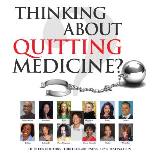 Image of Amazon Best-Seller, Thinking About Quitting Medicine