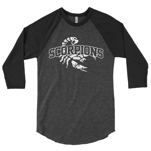 Image of Scorpions Distressed Raglan Shirt