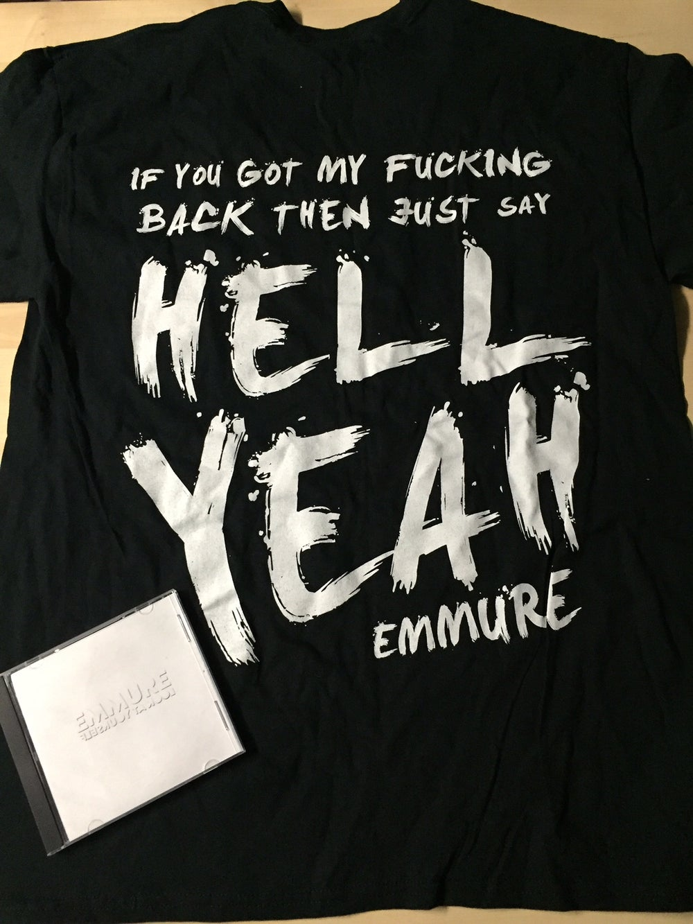 EMMURE - LOOK AT YOURSELF - NEW CD/SHIRT COMBO DEAL #2