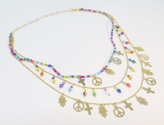 Image of Vida Multicolor Necklace
