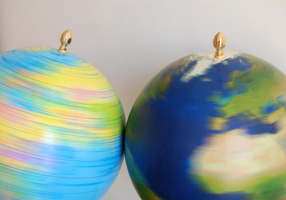 Image of Spinning² Globes