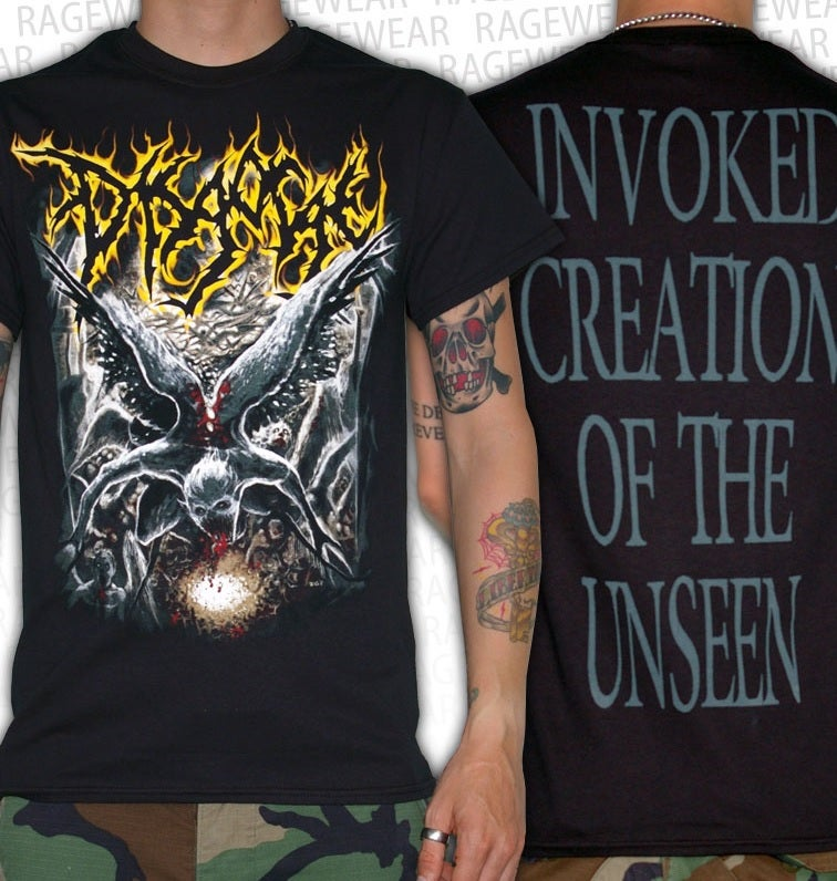 Image of DISGORGE - Perish Angel T-Shirt