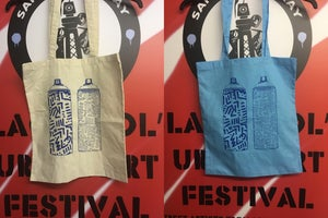 Image of Spray Cans Tote Bag