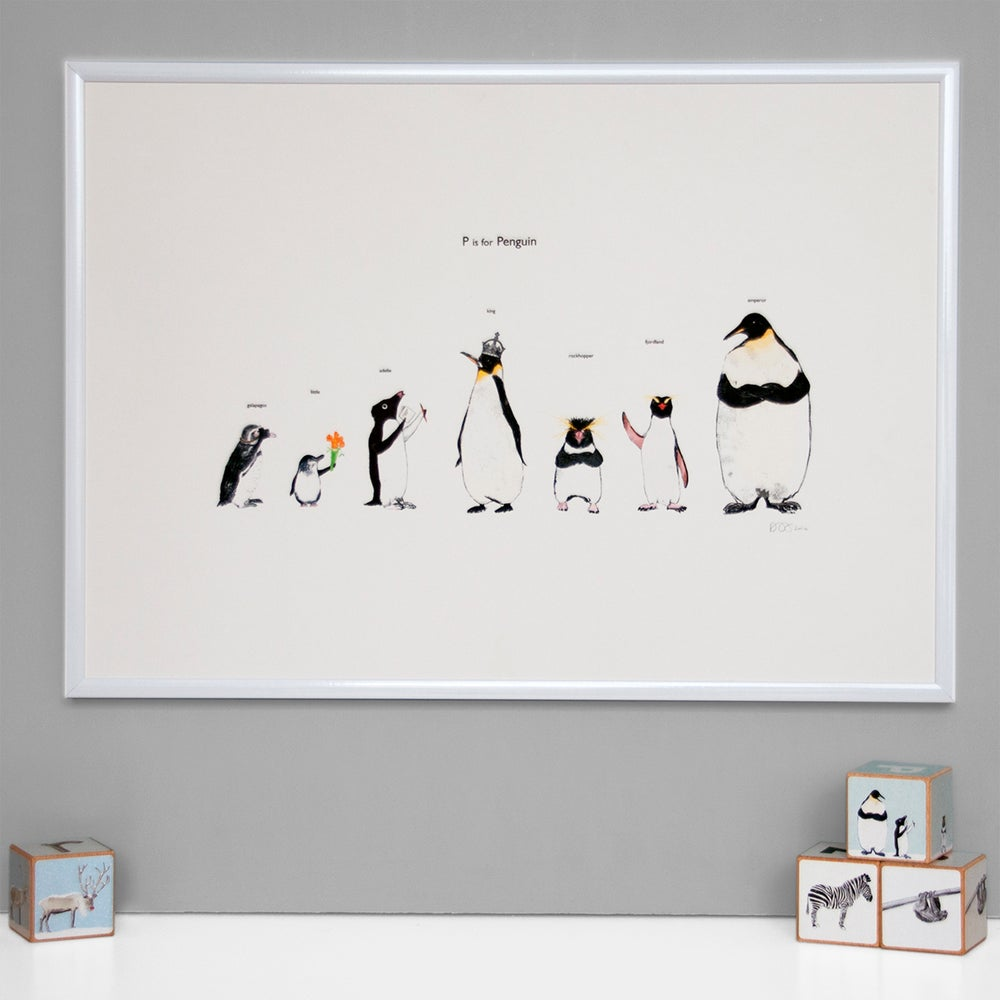 Image of P is for Penguin Print
