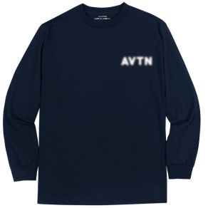 "Image of Aviation ""Blurred Out"" Long Sleeve - Navy"