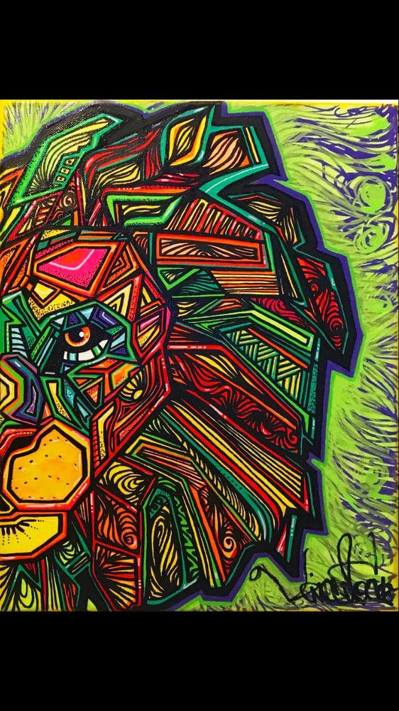 "Image of Sacred Lion reborn collab w/Vincent ""Exist"" Tocco"