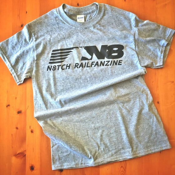 Image of n8tch T-Shirt (pre-order) Grey