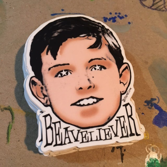 Image of Beaveliever Sticker