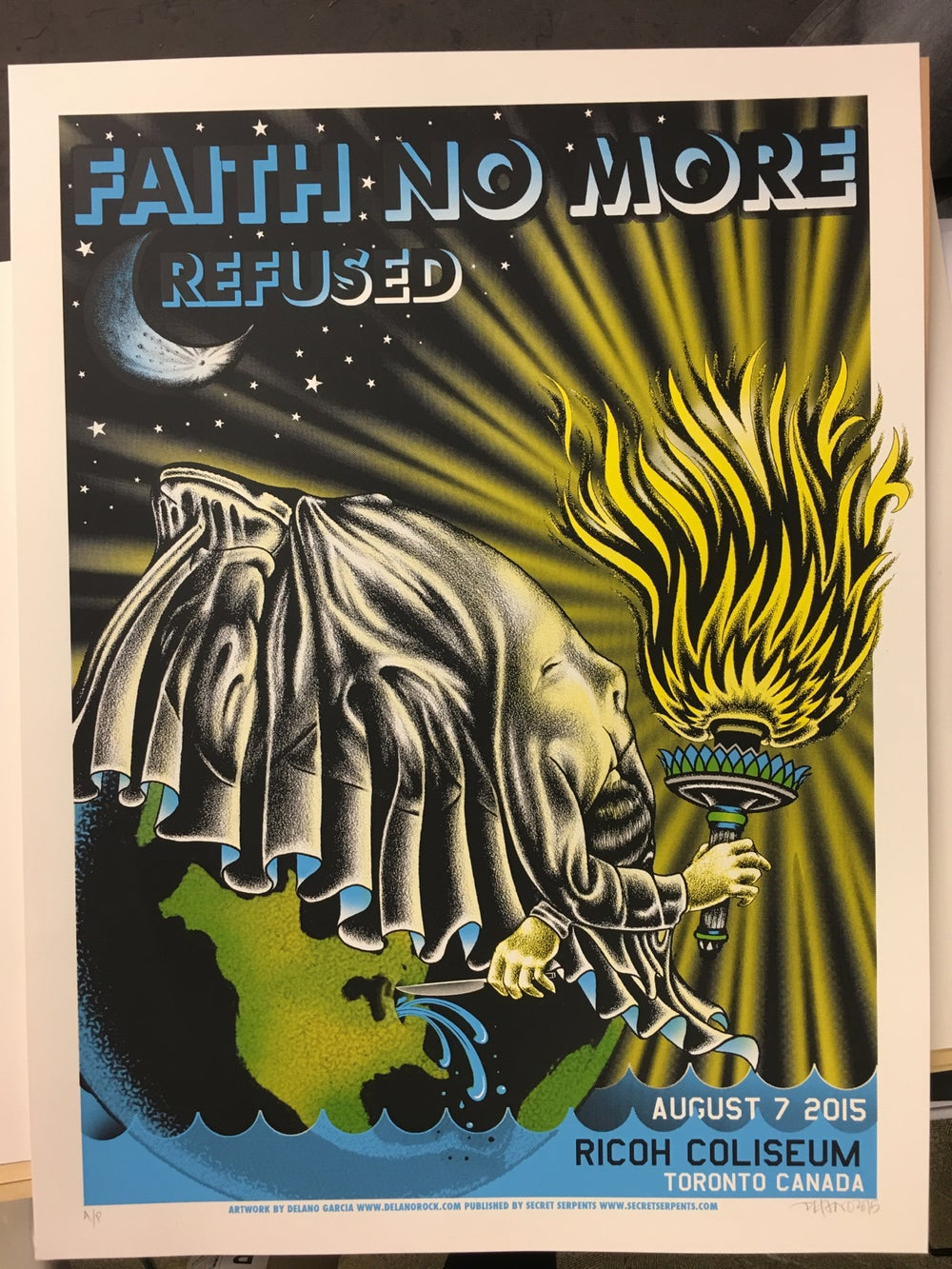 Image of Faith No More - 8/07/16 - Ricoh Coliseum - Toronto Canada