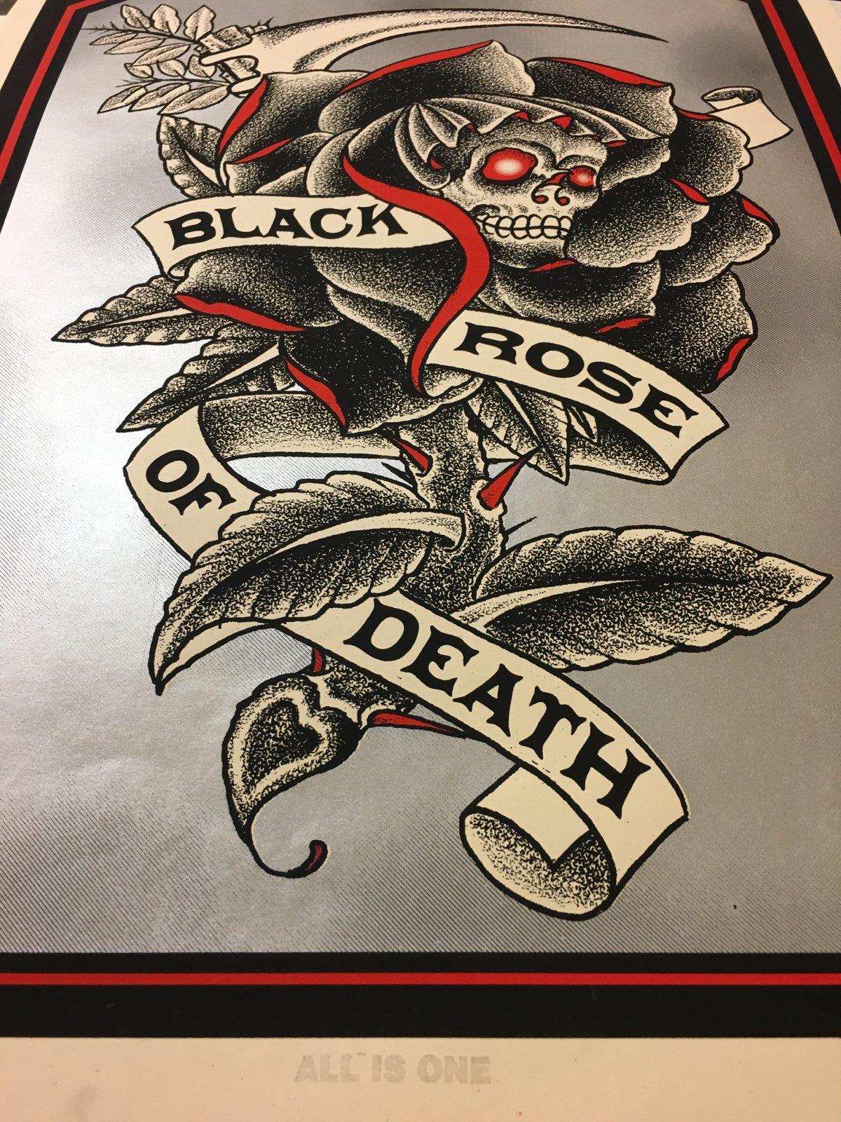Image of Black Rose of Death