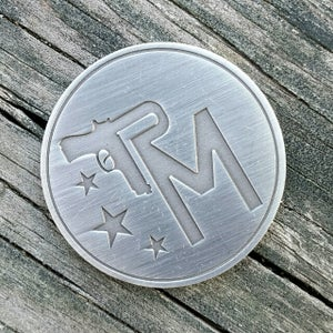Image of DTOM Challenge Coin