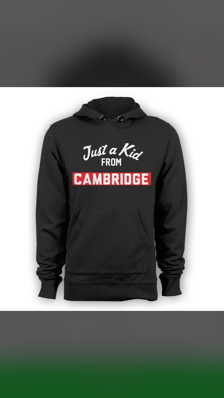 Image of Just a Kid From Cambridge- 2XL - 4XL