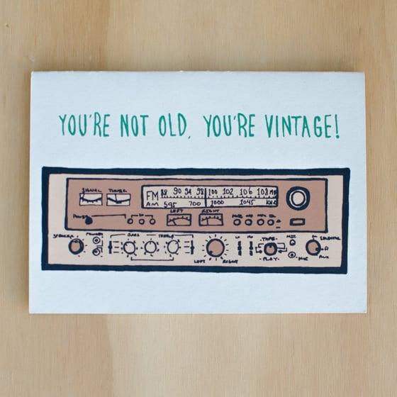 Image of Not Old, Vintage