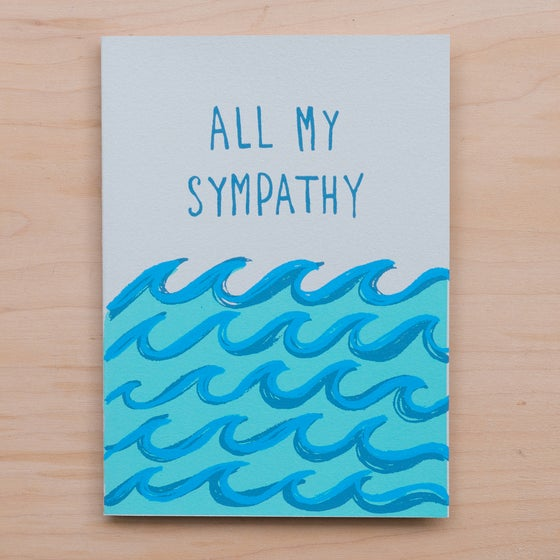 Image of All My Sympathy Waves