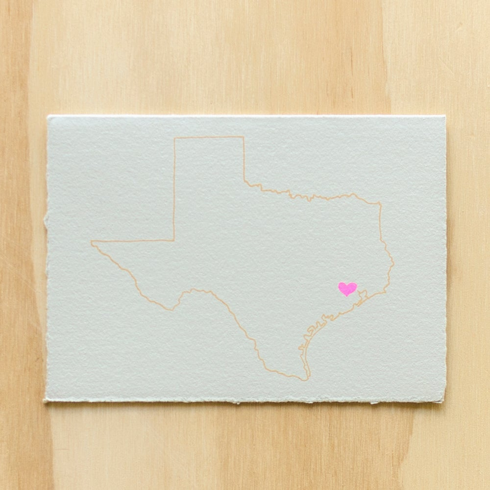 Image of Texas Map