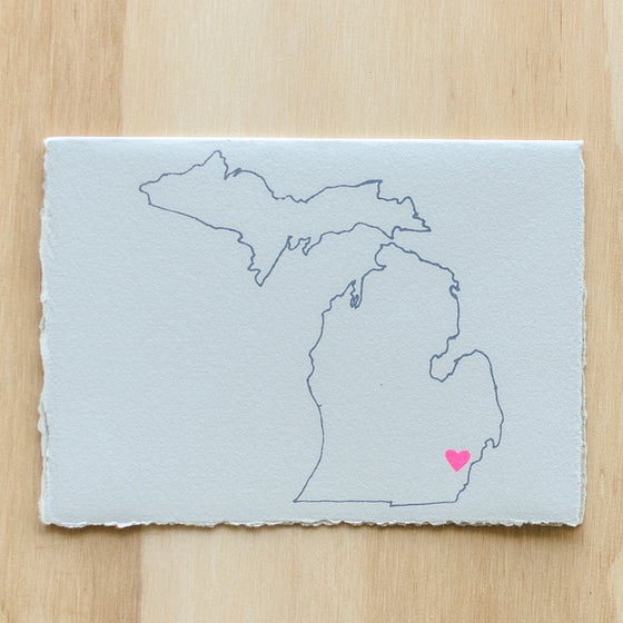 Image of Michigan Map