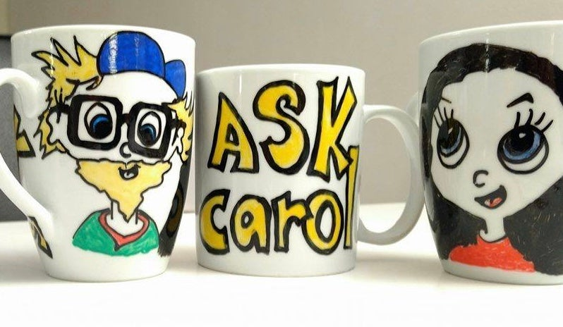 Image of Mug with cartoon