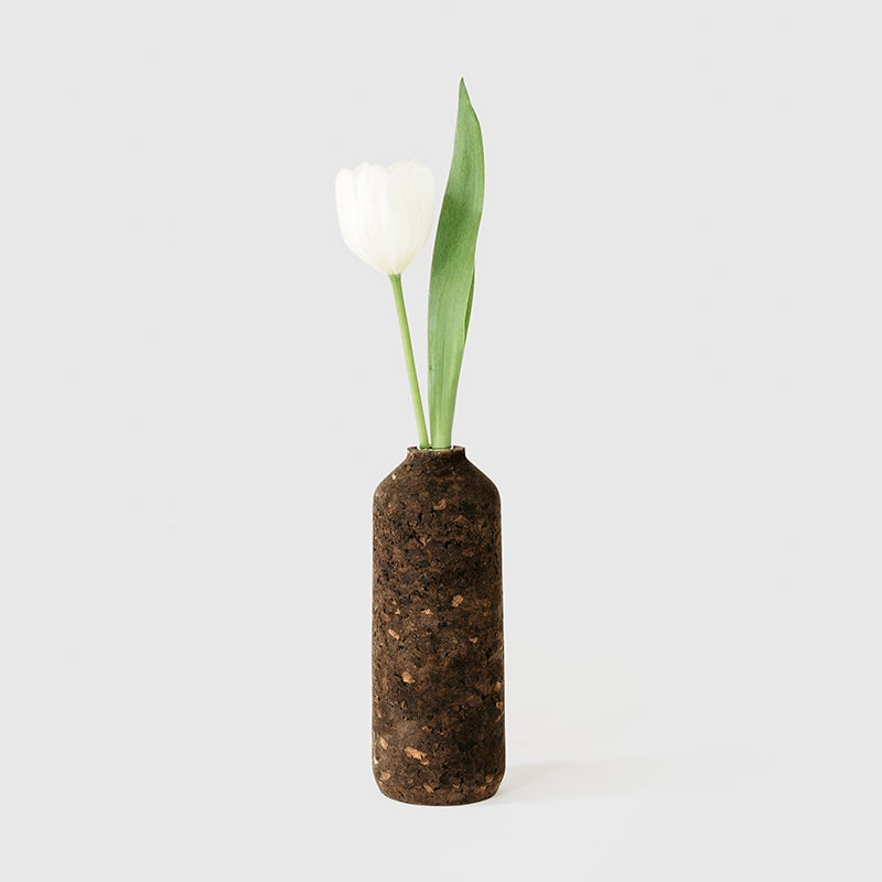Image of Charcoal Cork Tall Vase