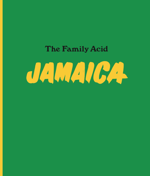 Image of The Family Acid Jamaica book - U.S. MEDIA MAIL SHIPPING