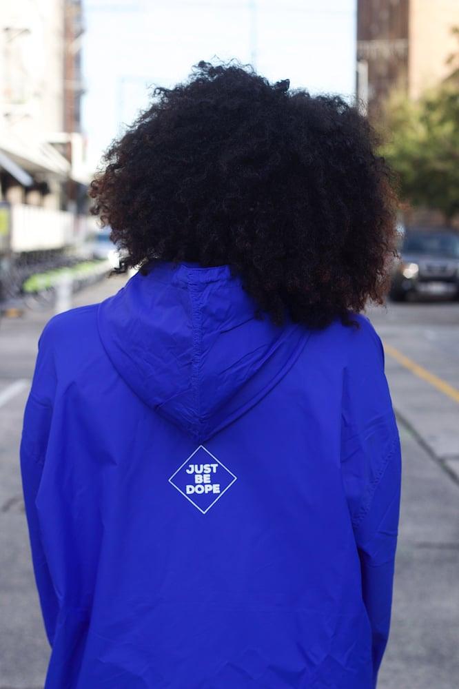 Image of Blue I Love Myself Windbreaker