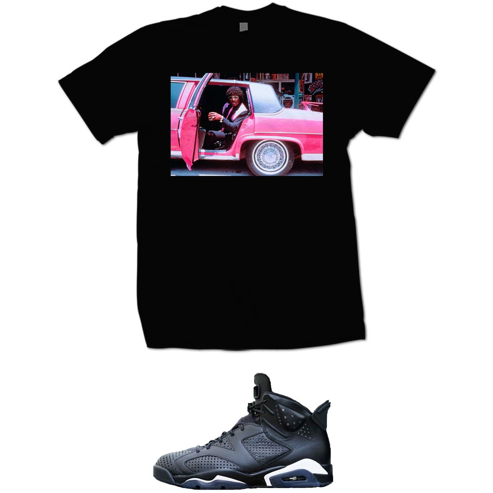 Image of PINKY NEXT FRIDAY T SHIRT - BLACK