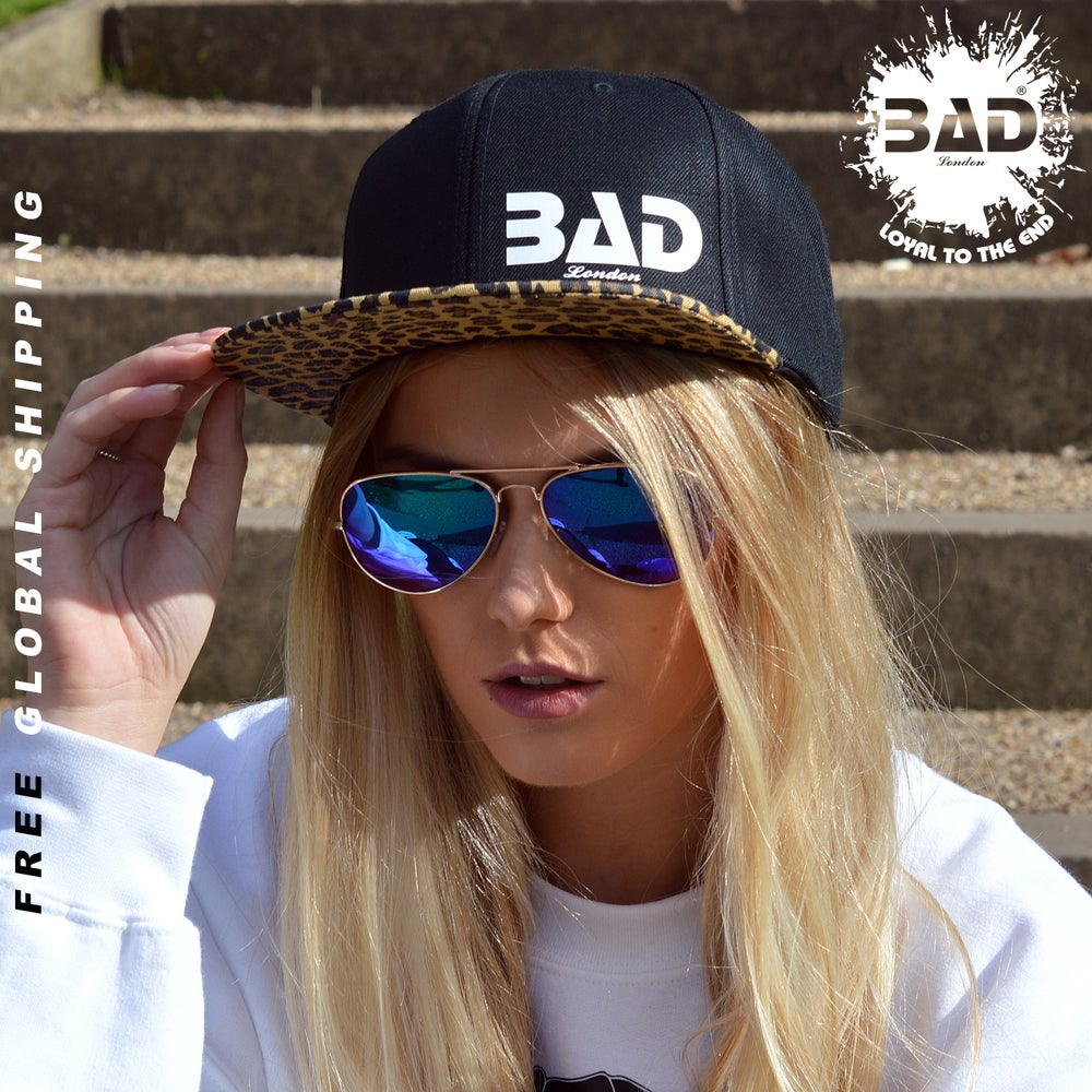 Image of Premium Couture Unisex Snapback by Bad apparel London Designer urban Street Wear Fitness Fashion