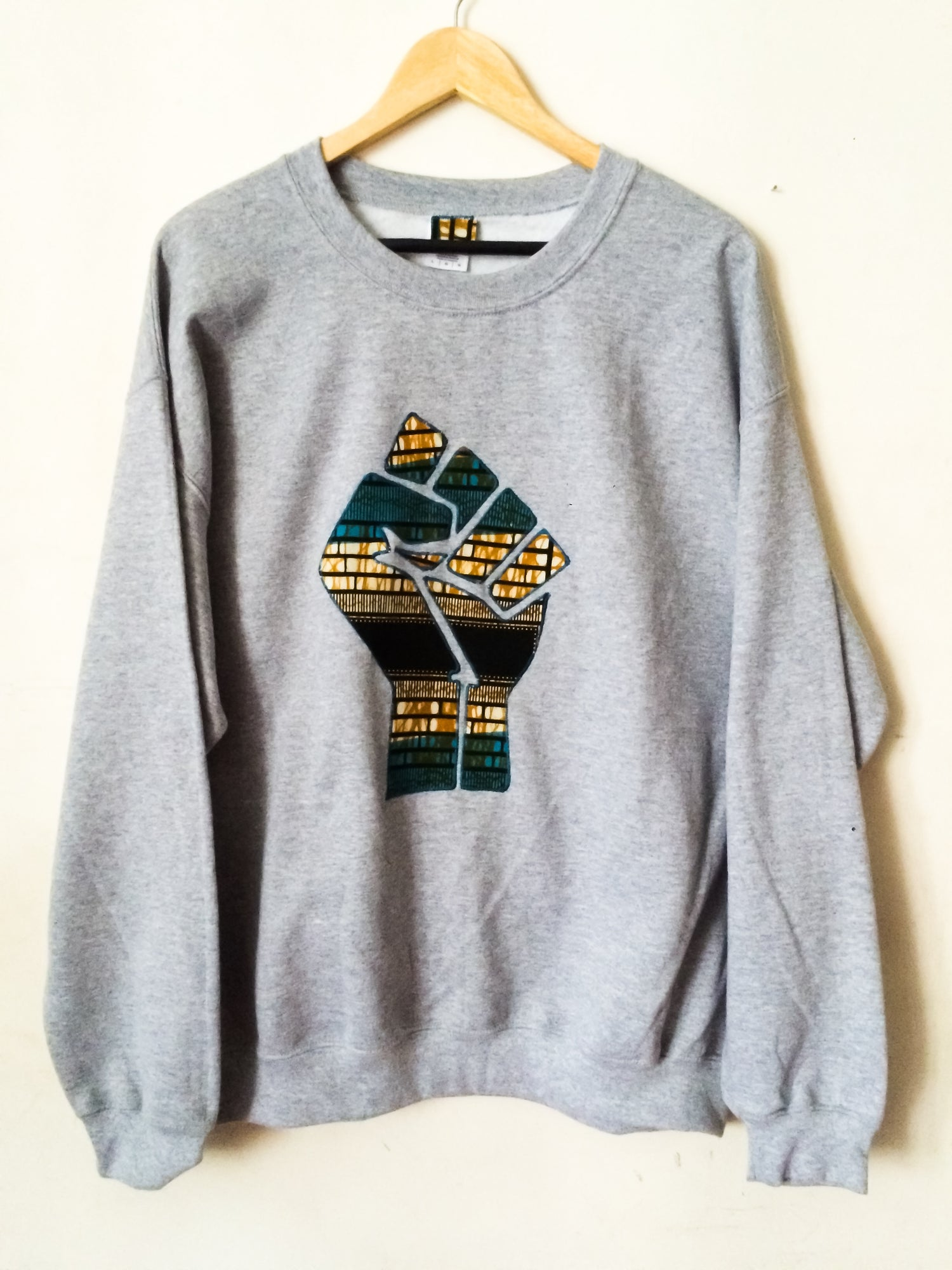 Image of SPORT GREY Fist Up Sweater