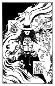 Image of Terot Witch Original Drawing