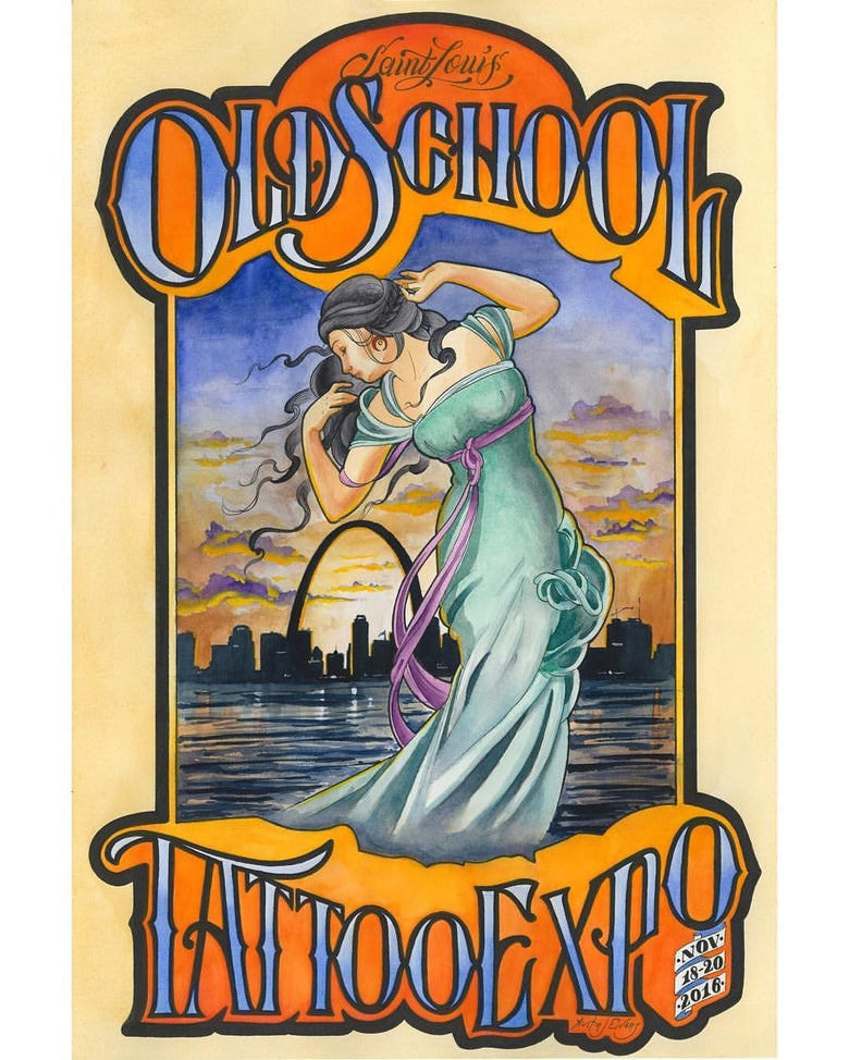 "Image of ""Old School Expo"" (Print)"