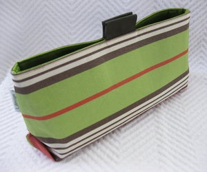 Image of LG_silk stripe/ lime green
