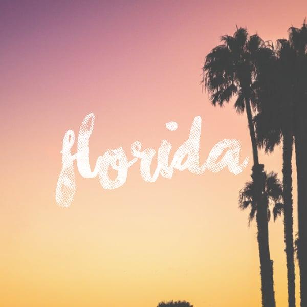 Image of BOITE EVJF #FLORIDA