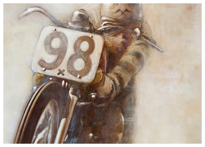 Image of '#98x (Vintage Dirt Track III)'