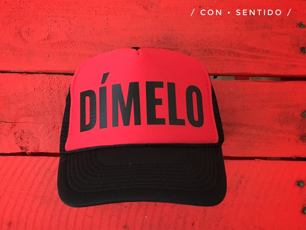 Image of Dímelo Trucker Hat