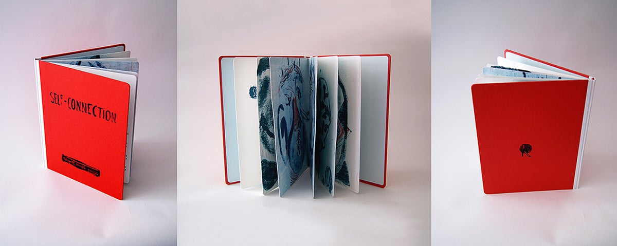 "Image of "" Self-Connection"" Artist Book"