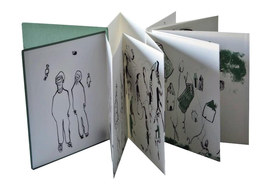 """Image of """"Am I a dream?"""" Artist Book"""