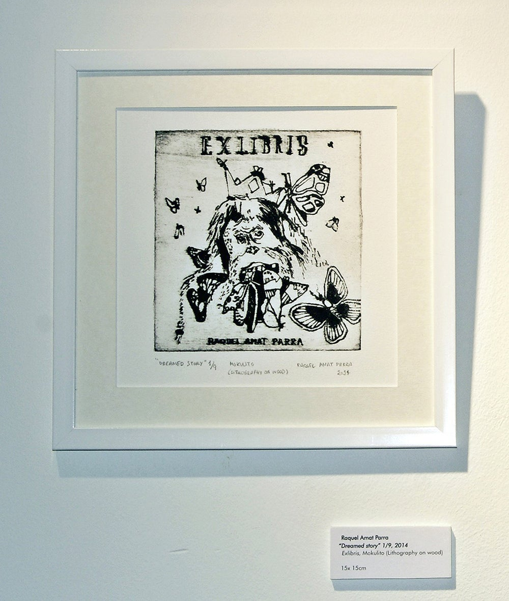 Image of Dreamed story. Exlibris