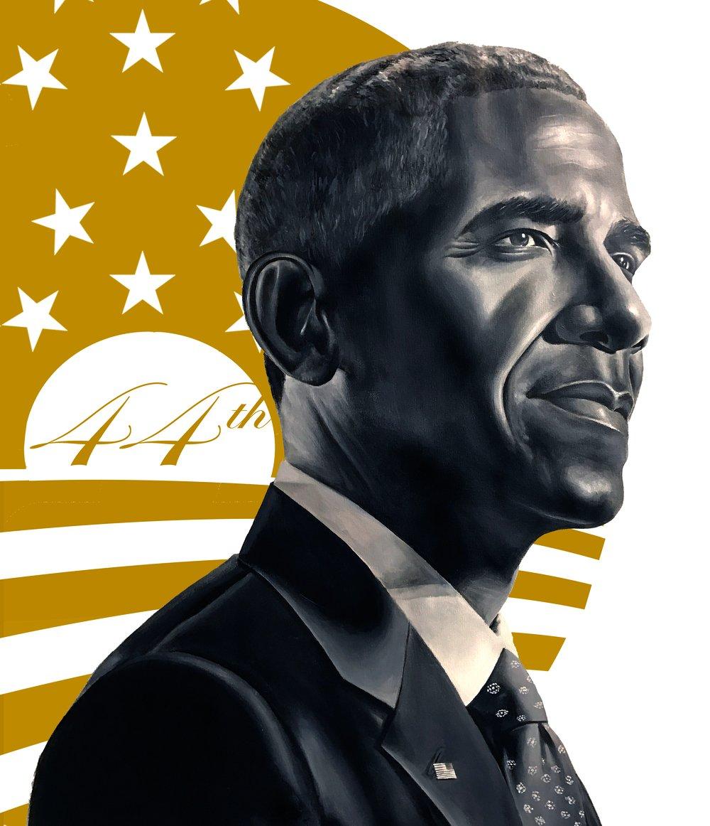 Image of 44th President Barack Obama