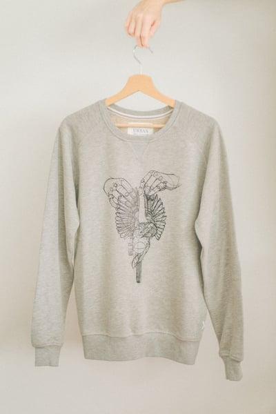 Image of Male Premium Sweatshirt Dead Bird