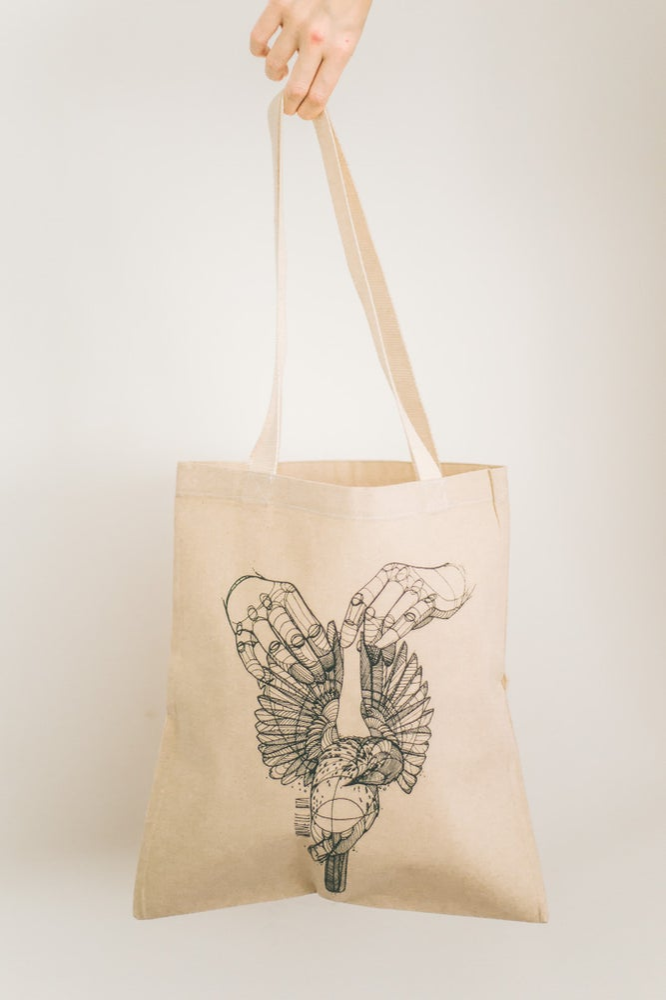 Image of Tote Bag Dead Bird