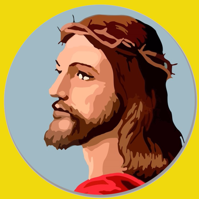 Image of Christ by the Numbers~10 in. Melamine Dinner Plates